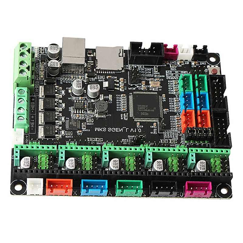 3D Máy In ARM 32-Bit MKS Sgen-L Bo Mạch Chủ 24V Tương Thích UART/SPI Mã Nguồn Mở Marlin