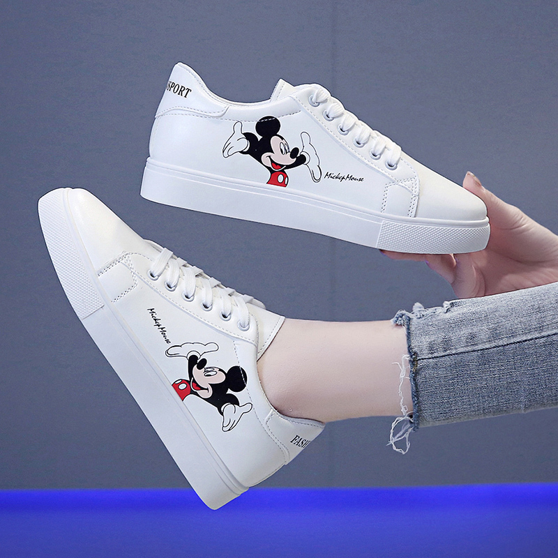 Mickey Mouse white shoes women 2020 new