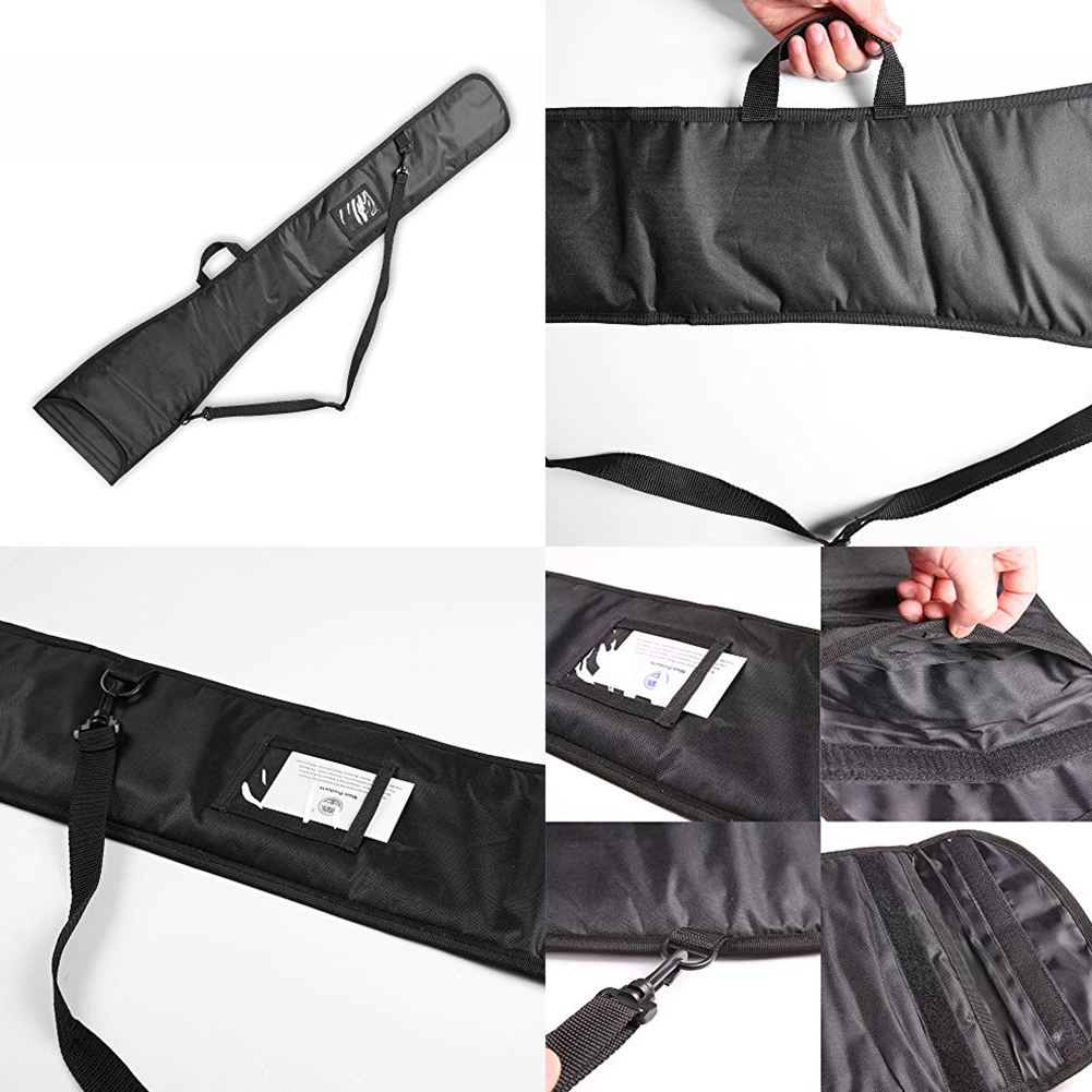 Rowing For 2 Piece Outdoor Divider Inflatable Boat Kayak Paddle Bag Sports Durable Water Practical Adjustable Strap Oxford