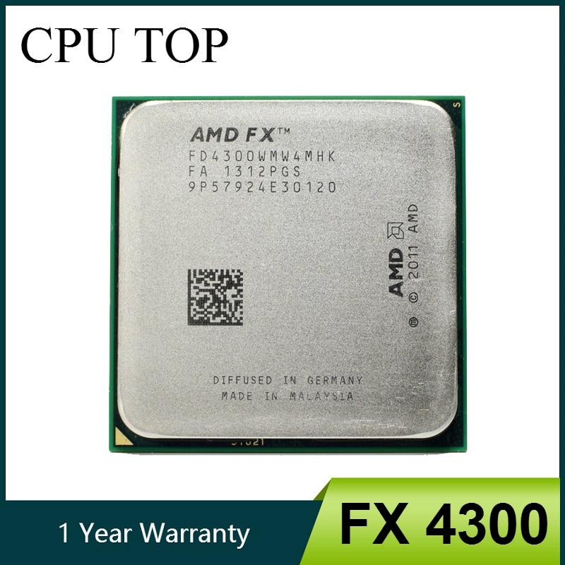 Amd Fx 4300 3 8 Ghz Quad Core Processor Socket Am3 32nm Cpu Bulk Package Fx 4300 Aliexpress