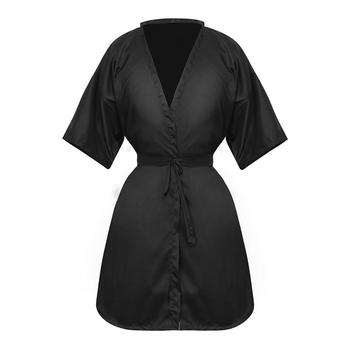 Hairdressing Capes Waterproof Salon Hair Cut coloring Cape Gown Cloth Black  Client Robes Cutting Smock - discount item  35% OFF Hair Care & Styling