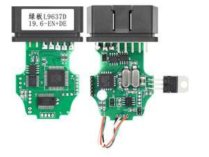 Электрические тестеры общие OBDII 16Pin диагностический интерфейс 1St ATMEGA162 + 16V8 + FT232RL SKU:1St-Multi-1962