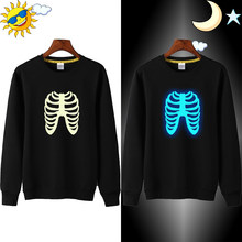 LYTLM Halloween Costume for Kids 3D Printed Skull Sweatshirt Hoodie Skeleton Costume for Girl Rock Street Hip Hop Kids Hoodies(China)