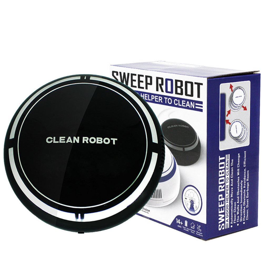 USB Rechargeable Small Size Environmental Smart Household Cleaning Robot Automatic Clean Robots Sweep Robot Device