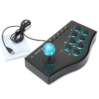USB Rocker Game Controller Arcade Joystick Gamepad Fighting Stick For PS3/PC For Android Plug PC(USB) And Play Street Feeling