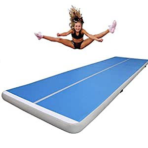 Promotion!6x2x0.2m Inflatable Gymnastics Mat Air Track Tumbling Mat Inflatable Gymnastics Airtrack For Training With A Pump