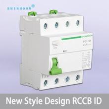 ELCB RCCB RCD Mccb ID 2P  3P 4P 80A 40 amp 30 mA 50 amp 63 amp  100 amp Type B 10 KA 230 V 400V Residual Current Circuit Breaker 4p 40a 30ma 220v 380v 400v ac magnetic type residual current circuit breaker rcd rccb