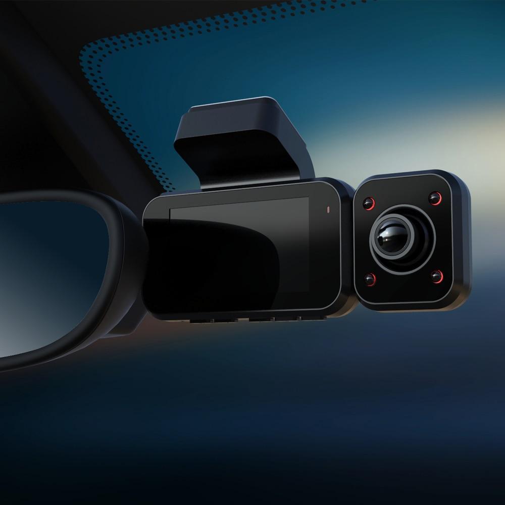 Aiba A12 WDR 1296P Автомобильный видеорегистратор ночного видения Автомобильная камера рекордер для двумя объективами заднего вида видеорегистра...
