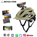 CAIRBULL OFF-ROAD MTB Fiets Helm Met Volledige HD1080P Wifi Action Video Camera Fietshelm + DVR Smart Sport camera Fiets Licht