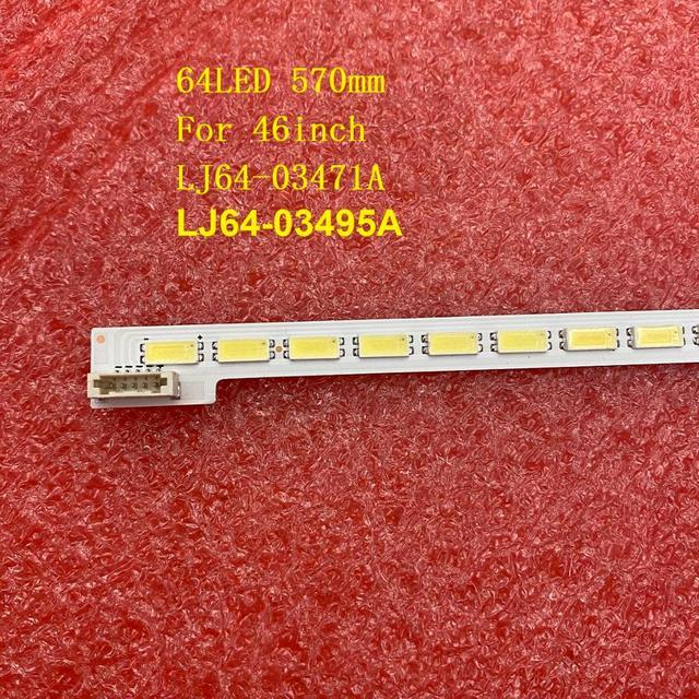 LED Backlight strip For TOSHIBA 46TL933 46TL938 46TL966 46TL968 46EL300C L46E5000 46L5200 46HL150C L46V7300A LJ64 03471A 03495A