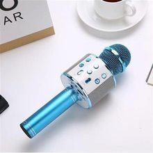 Kablosuz kondenser Mikrofon profesyonel Karaoke Mikrofon Bluetooth standı radyo Mikrofon stüdyosu kayıt stüdyosu USB