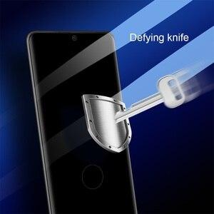 Image 3 - Para Samsung Galaxy S21 Ultra S21 + Plus Protector de pantalla de cobertura total de vidrio templado Nillkin 3D CP + Max 9H Glass para Samsung S21