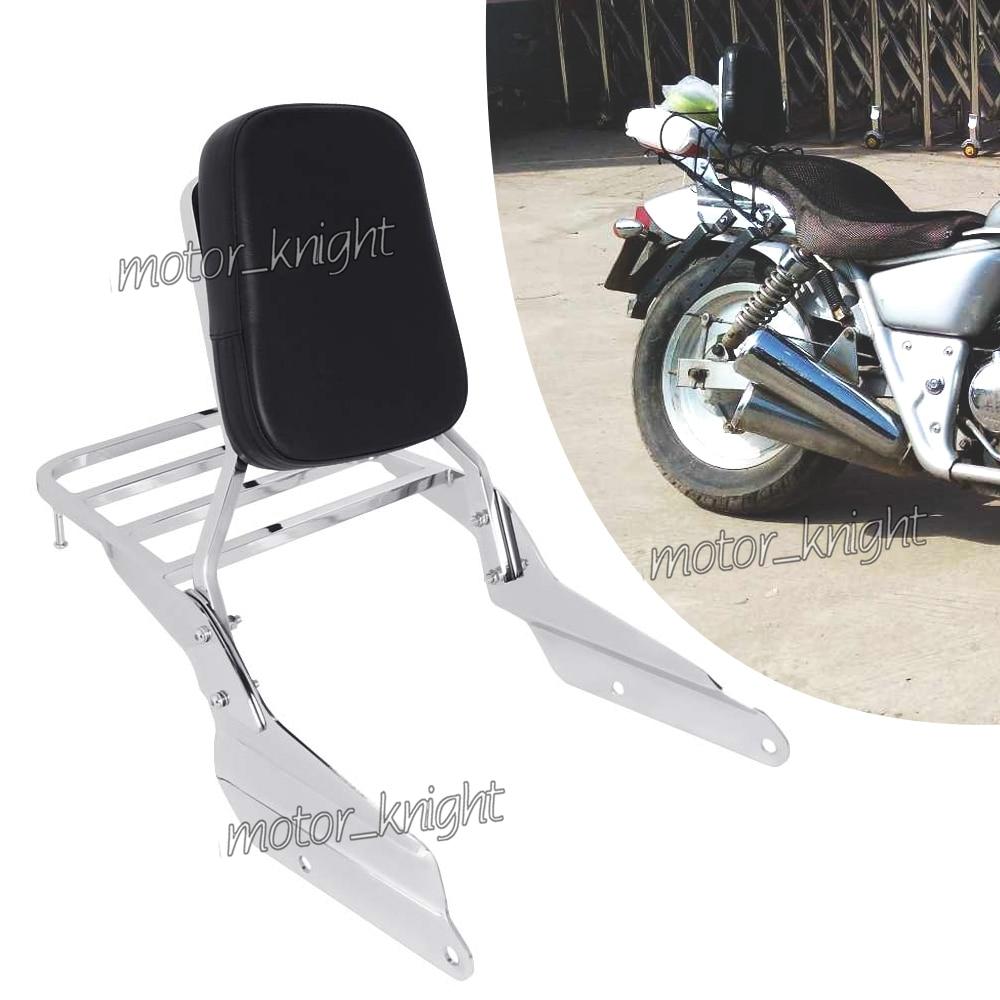 Motorcycle Backrest Sissy Bar Luggage Rack For HONDA MAGNA750 VF750 1994-2003 & MAGNA250c VF250 1995-2007