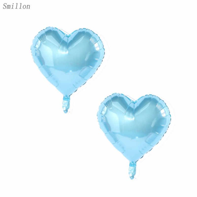 สีน้ำเงิน sequined บอลลูน combinatio ลูกโป่งวันเกิดตกแต่งเด็ก globos วันเกิดบอลลูนตกแต่ง