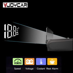 China Cheap OBD2 HUD Mirror Car Head Up Display HUD Digital Speed Projector Security Alarm Water Temp RPM KMH MPH Speedometer