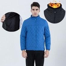 5XL Plaid Fleece Jacket Coat Me