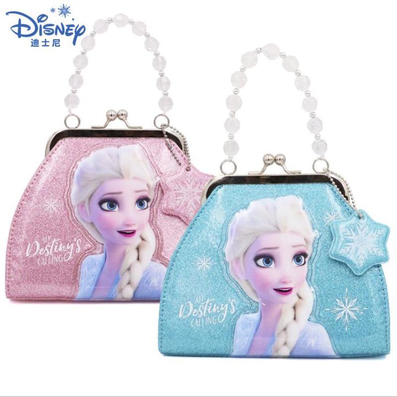 2019 Genuine Disney Frozen2 Handbag Elsa Anna Kids Shoulder Bag Children Girl Bag Frozen Queen Children Toy Christmas Gift