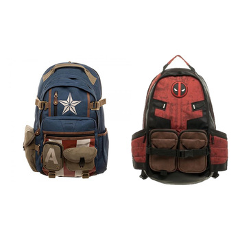 Deadpool backpack for school and travel 1
