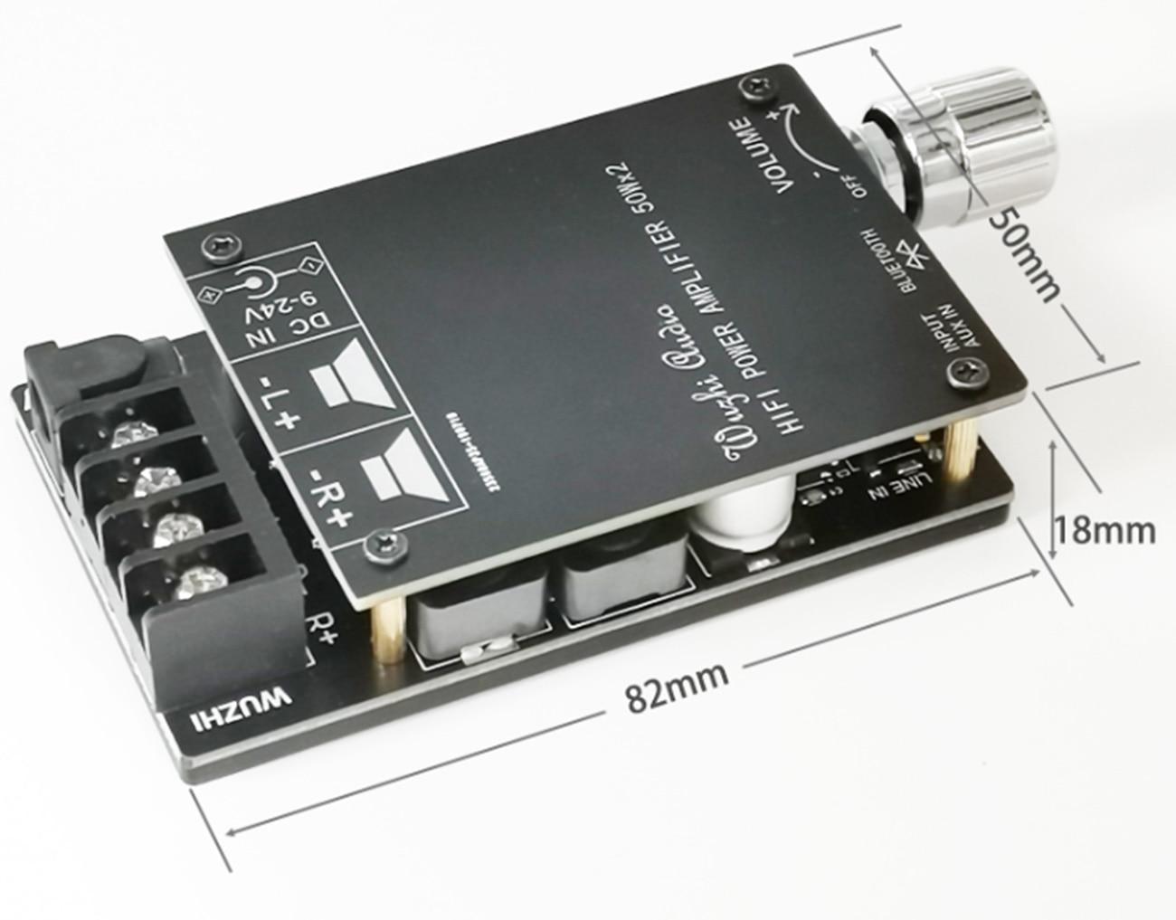 DiscountïAmplifier-Board HIFI ZK-502C Bluetooth Digital TPA3116D2 Audio 50WX2 Wireless
