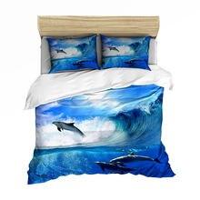 Классический Комплект постельного белья 3d hd ocean постельное