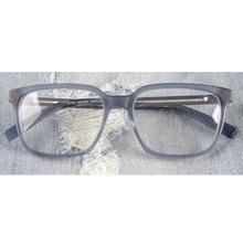 Büyük boy tasarımcı dikdörtgen asetat gözlük çerçeveleri