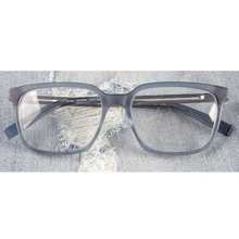 Oversized designer rectangle acetate glasses frames