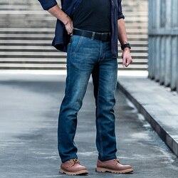 Мужские джинсы-карго в стиле милитари Sector Seven, повседневные Стрейчевые тактические армейские джинсы с множеством карманов, 2020