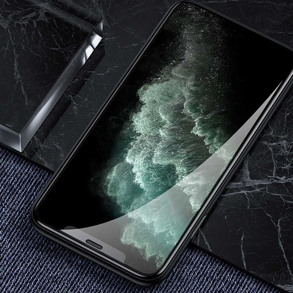 Benks XPRO 3D borde curvo protector de pantalla de vidrio 0,3mm para iPhone 11 Pro MAX XR X XS cubierta completa protectora de vidrio templado