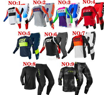 Hot sall 2020 For NOIZ FOX 360 Motocross Jersey and pants MX Off-road Automotive Downhill Gear Set Combos Motorcycle Suit  bvhg 2017 naughty fox mx shiv 360 motocross gear set off road racing suit motocross jersey and pants