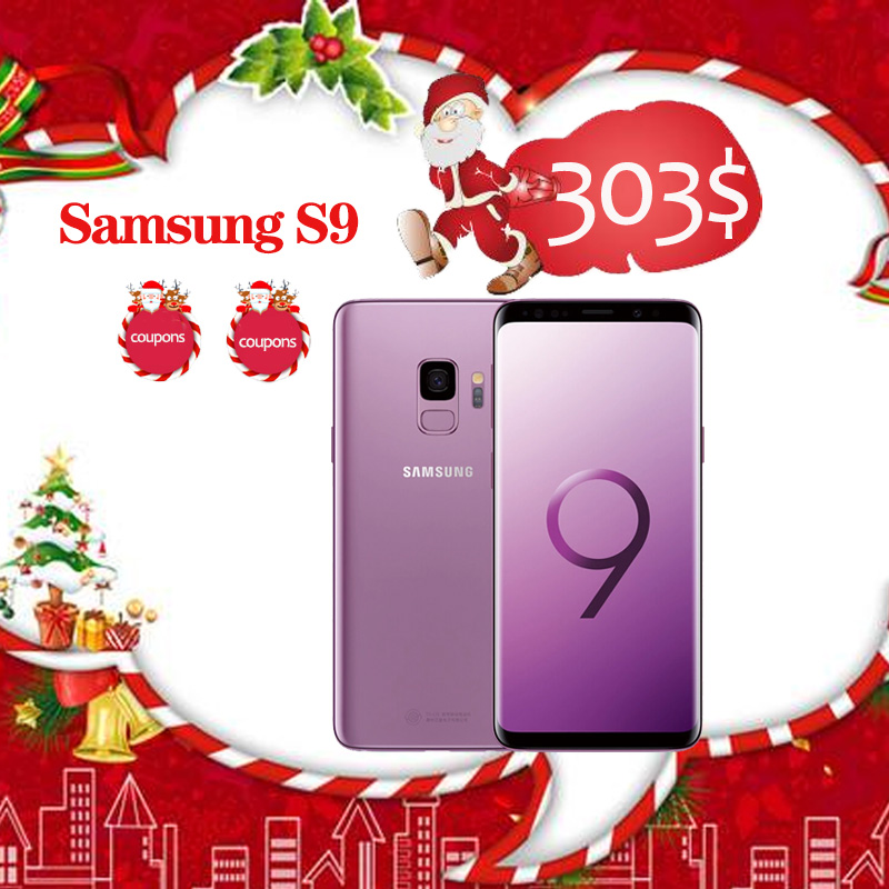Original Mobile Samsung Galaxy S9 G960F Unlocked LTE Android Cell Phone  5.8