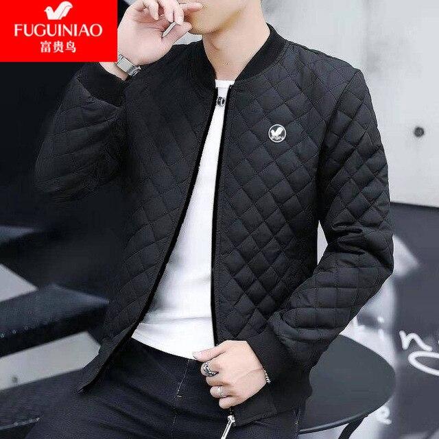 2020 New Autumn Winter Cotton Coat Men'S Jacket Men'S Cotton Jacket Jacket  Jacket Fat Male Army Velvet Clothes 4