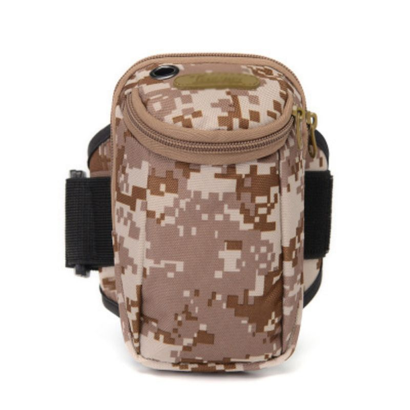 Multipurpose Practical Running Arm Bag Large Capacity Water Resistant Phone Pouch Durable Outdoor Fitness Sports Wrist Bag