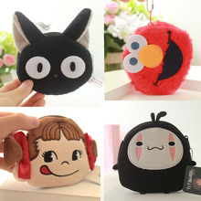 Cute Mini Plush Wallet Soft Plush Avocado Coin Purse Cartoon Unicorn Wallet Girls Lovers Valentines Gift Small Bag Gift for Kids