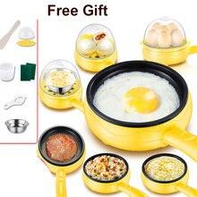 Cooker Frying-Pan Eggs-Boiler Food-Steamer Egg-Omelette Steak Pancake Electric Mini 220V