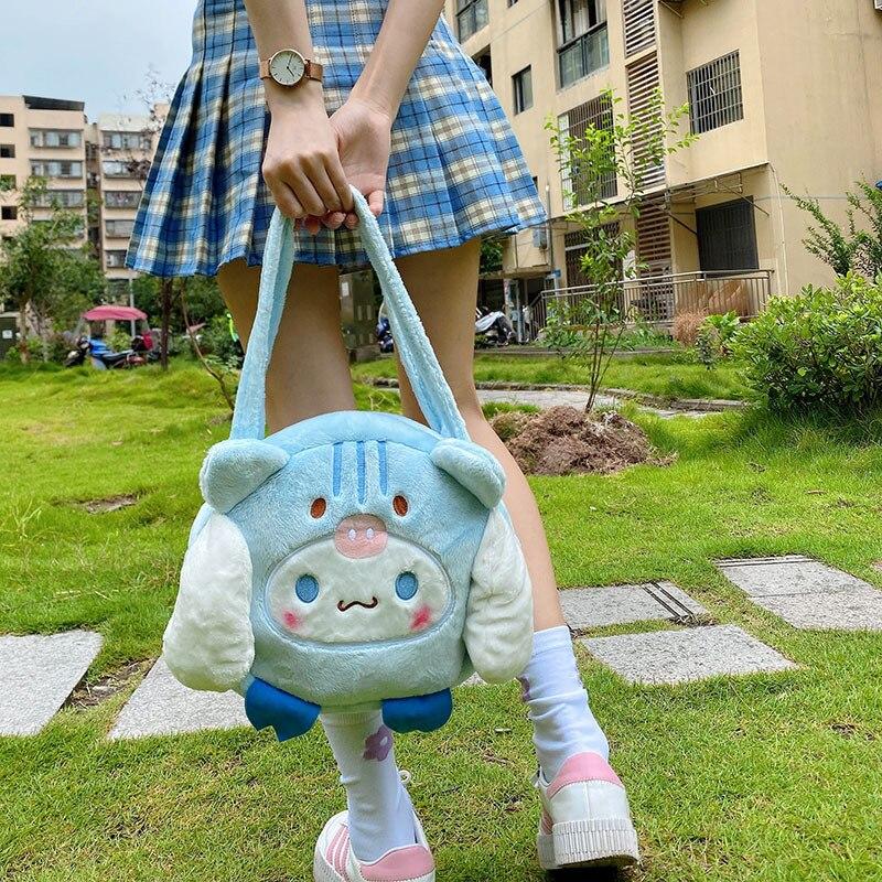 Cute Cinnamoroll Plush Purse And Shoulder Bag 2