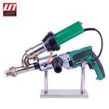Geomembrane extruder Plastic extrusion welder machine vinyl weld extruder hot air welder gun geomembrane repair seam welding gun