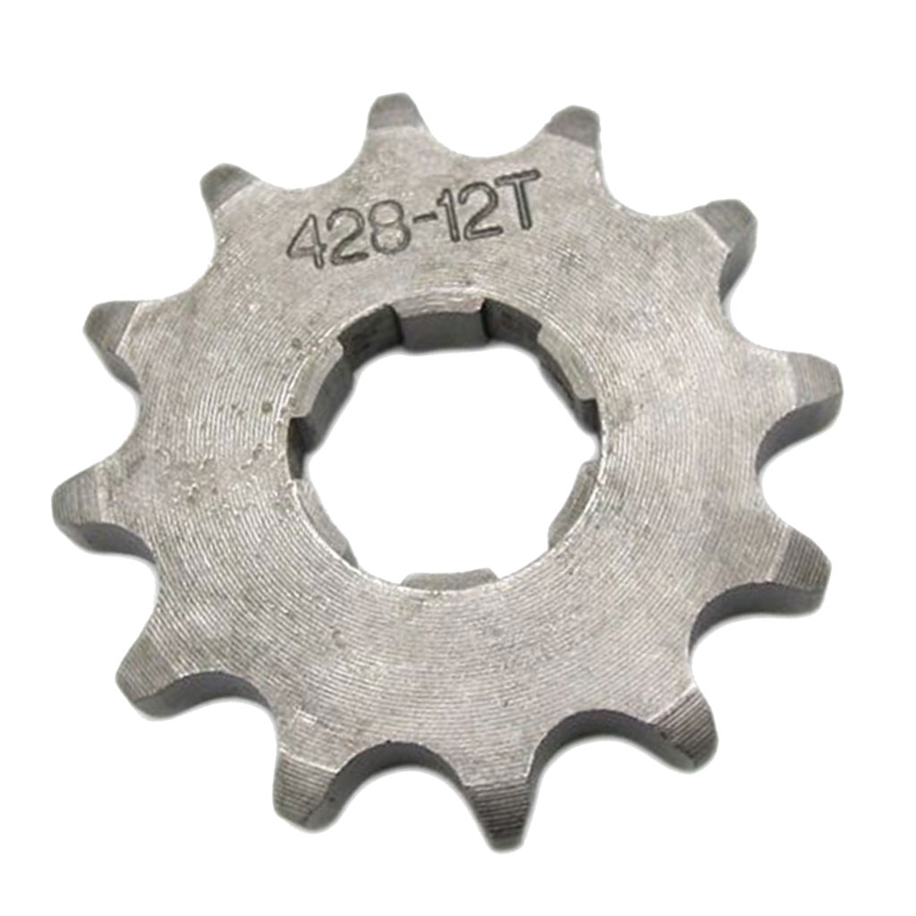428 12T 20mm Drive Front Counter Sprocket ATV Quad  Dirt Bike