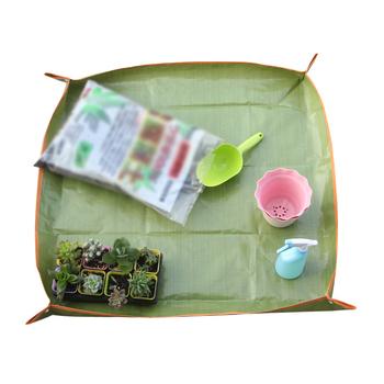 Ogrodnictwo w domu mata podłogowa mata do przeszczepiania mata ogrodowa szczelna czysta mata do przewijania mata doniczka wodoodporna tanie i dobre opinie YJ36600 Other
