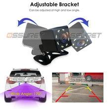Auto-Parking-Reverse-Camera Waterproof Universal Adjustable HD 170 Bracket Packing Assistance