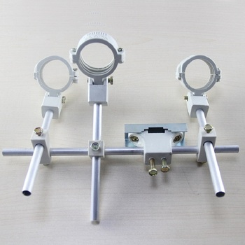 цена на KU LNB Bracket LNB holder hold up to 4 ku band LNB 4 satellite LNB  for1 dish antenna made in china
