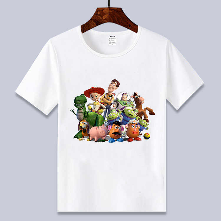 2019 hot  child anime T Shirt 3D Woody Buzz Lightyear T-Shirt Cartoon Printed Tee Shirts t shirt for boys/ girls,bal025
