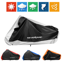 190T Waterproof Black Silver Blue Orange Red Motorcycle Covers Outdoor Indoor Scooter Motor Rain UV Dust Proof Protective Cover 200x90x100cm black silver 190t waterproof motorcycle covers outdoor indoor motorbike scooter motor rain uv dust protective cover