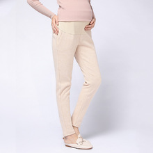 Autumn&Winter Adjustable Maternity Pregnancy Clothes Women Stretchy Slim Pants for Pregnant Women Trousers Maternity Clothing plus size pink maternity dresses autumn winter thicken maternity clothes dress for pregnant women cute women party clothing