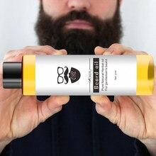 Mokeru men barba óleo natural orgânico estilo bigode óleo hidratante suavização arrojado cavalheiros barba óleo rosto cuidados com os cabelos