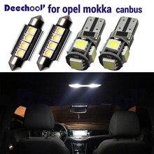 15 x ข้อผิดพลาดฟรีสำหรับ Opel Vauxhall Mokka 2012 + แผ่นใบอนุญาตโคมไฟ + CANbus LED ภายในโดมชุดหลอดไฟ