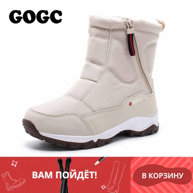 GOGC frauen stiefel frauen Winter Stiefel Schuhe frau schnee stiefel frauen Stiefel Winter Stiefel für Frauen Winter Schuhe stiefeletten G9906