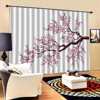 pink curtains 3D Blackout Curtains For Living room Bedding room Drapes Cotinas para sala Decoration curtains
