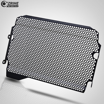 Motorcycle Accessories CNC Aluminum Motorcross Radiator Grille Guard Cover Protector FOR Yamaha FZ-07 2018 2019 MT-07 2018 2019