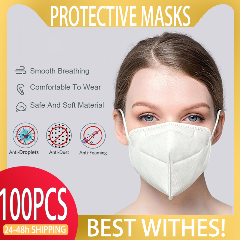 In Stock KN95 Safety Face Mask Mascara Anti Gas Dust Protection KN95 Mask Face Shield Safety KN 95 Mask Face Gas Safety Mask|Masks| |  - title=