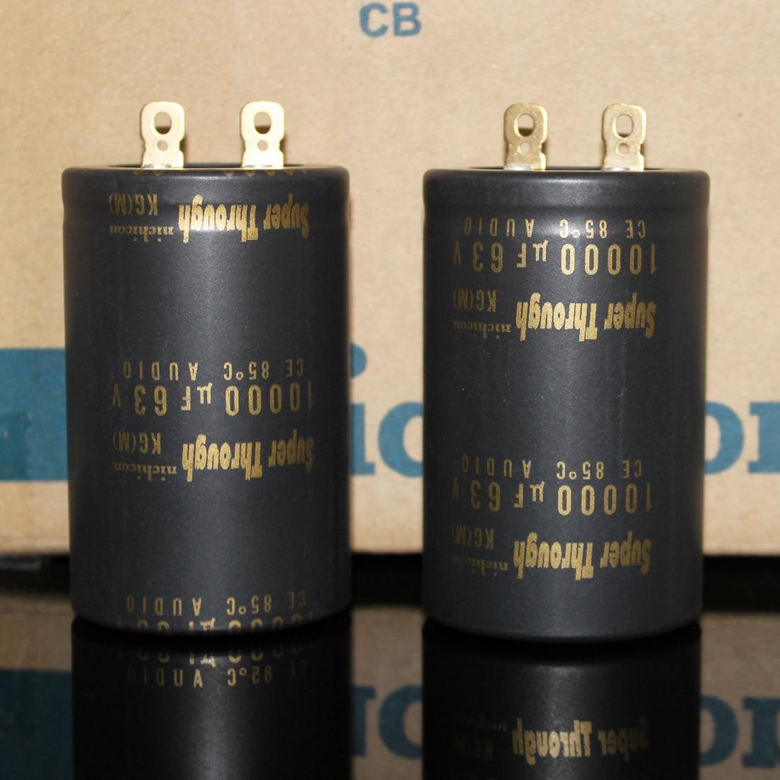 30*50mm 10000UF63V//63V10000UF 1PCS AUDIO Electrolytic Capacitor NIPPON size